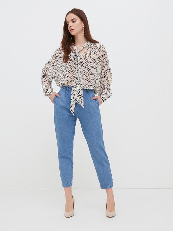 Motivi Jeans chino blu chiaro Donna Blu