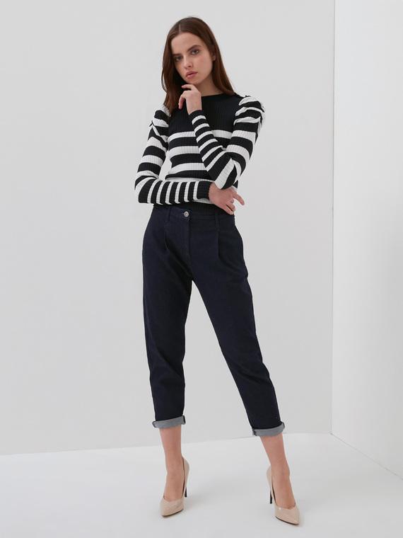 Motivi Jeans chino blu rinse Donna Blu