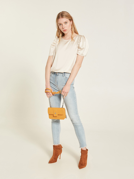 Motivi Jeans skinny chiaro modello Gisele Donna Blu