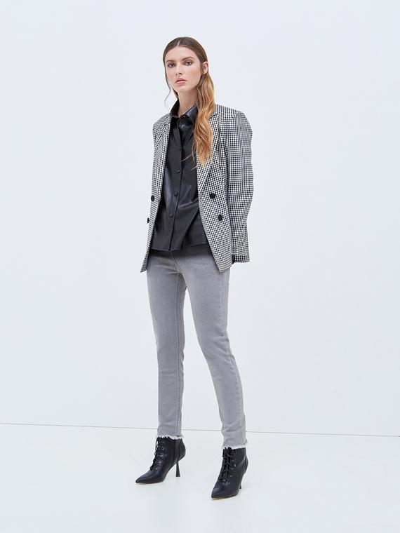 Motivi Jeans skinny sfumato modello Gisele Donna Grigio