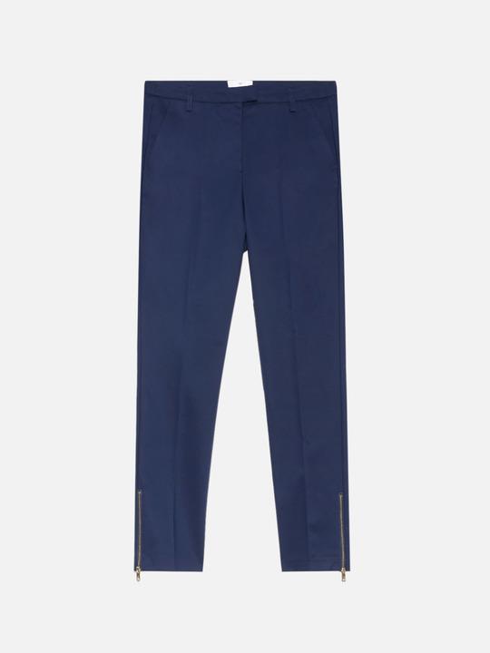 d7d8f7291f5e Motivi  Pantaloni a sigaretta Blu 1 Motivi  Pantaloni a sigaretta Blu 1