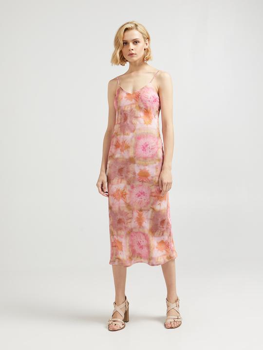 0c6727b7b34a5 Motivi  Vestito stampa effetto tie dye Rosa 1 ...