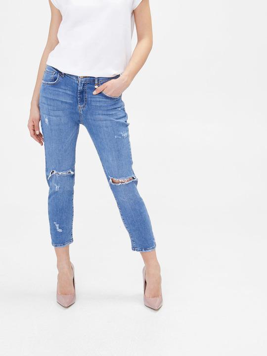 Motivi  Jeans slim boyfriend supreme fit Blu 1 ... 1ccfef6ac5b7