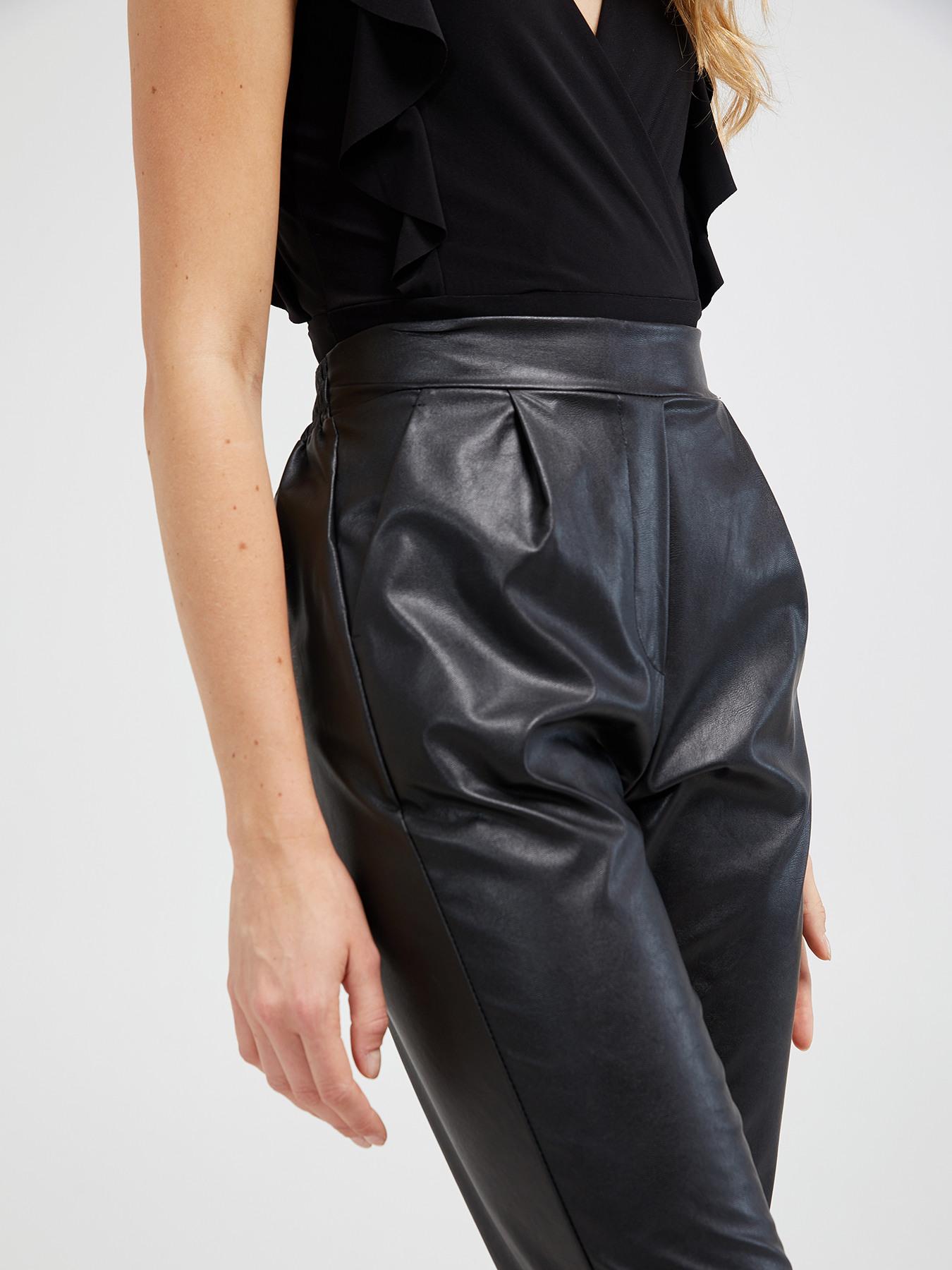 1c4a37c30b41 Pantalones chinos efecto piel - Motivi.com - ES