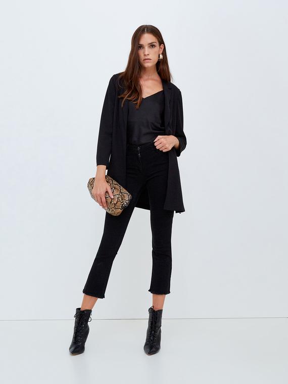 Motivi Jeans cropped nero Donna Nero