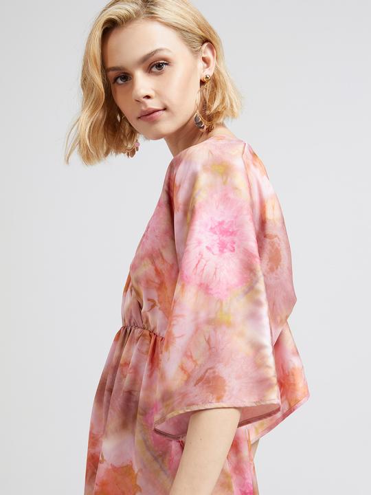 d1090850987e5 Motivi  Vestito corto effetto tie dye Rosa 1 ...
