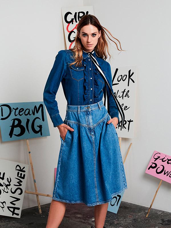Motivi jeans e denim fall winter 2020