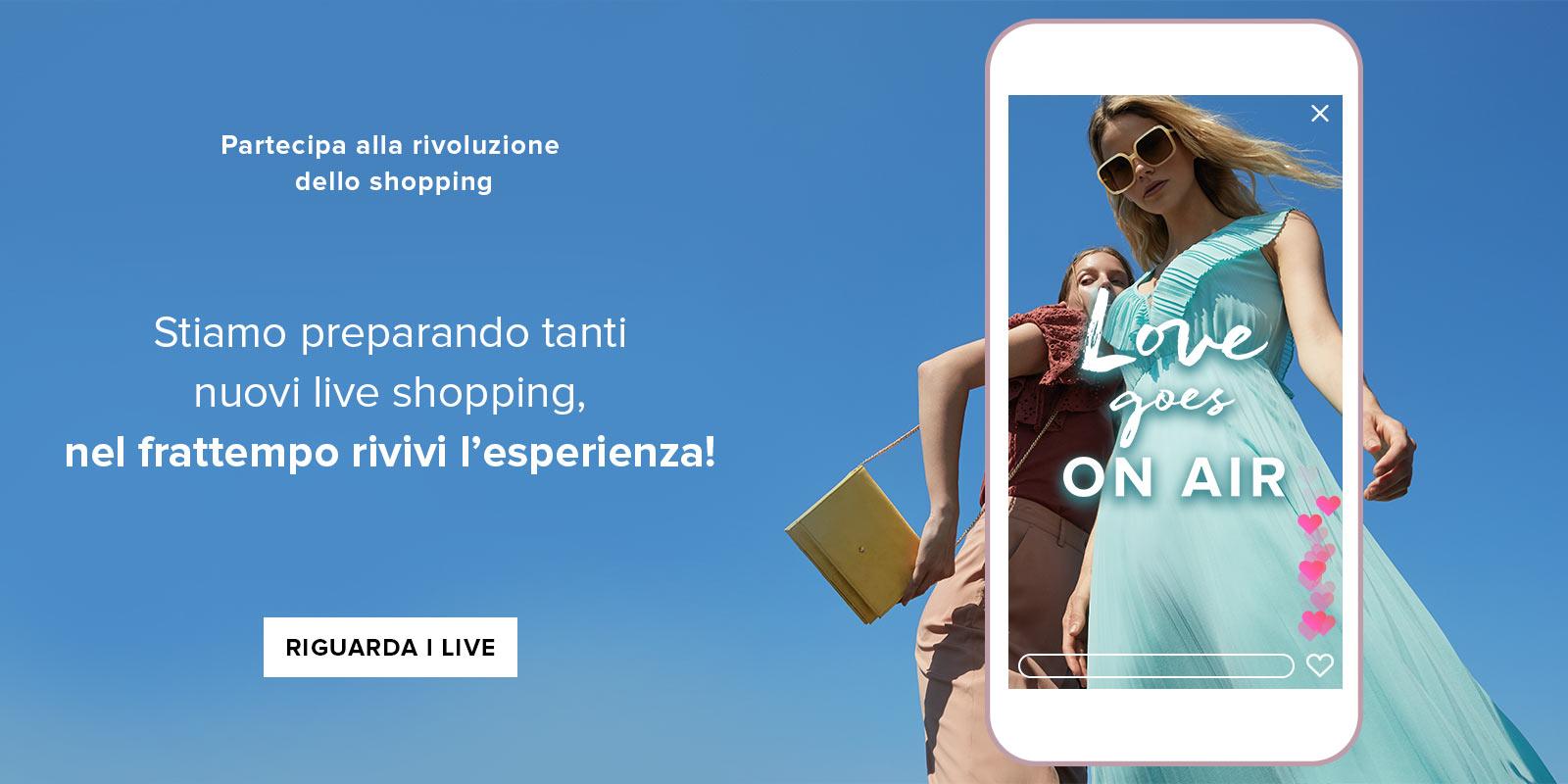 Motivi live stream shopping