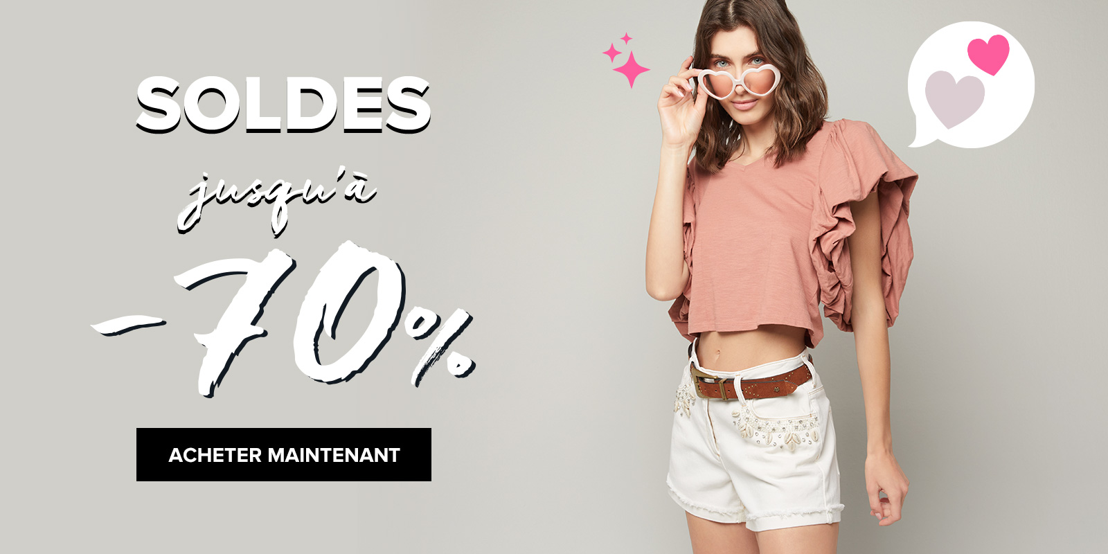 Sale up to 70% off