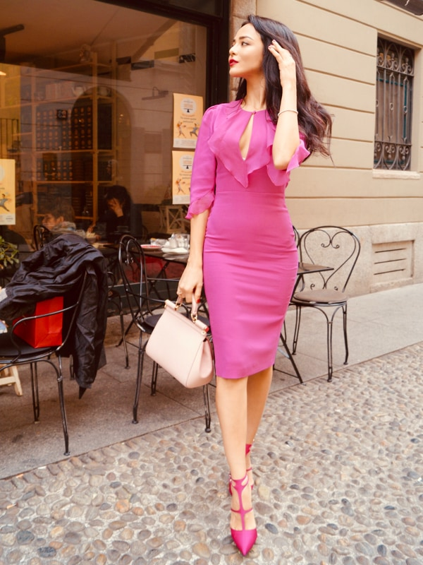 Smart Couture Motivi - Abito bandeau